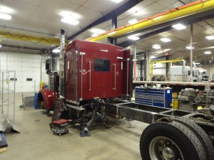 Photo of custom metal fabrication by our experienced mechanics.