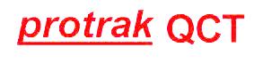 Photo of protrak QCT logo.